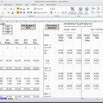 Invoice Production in an Excel Spreadsheet