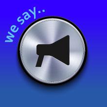 We say..